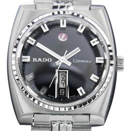 Rado Conway Day Date Automatic Vintage Swiss Mens Watch c1968