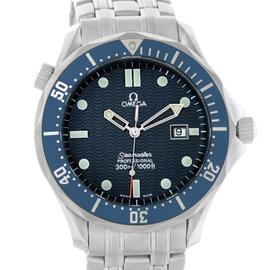 Omega Seamaster 2541.80.00 Stainless Steel Professional James Bond Blue Dial 41 mm Watch