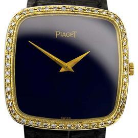 Piaget 9772 Diamond 18K Solid Gold Wind Luxury Dress Manual Mens Watch