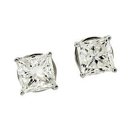 Jacob & Co. 18K White Gold & Diamond Stud Earrings