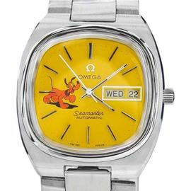 Omega Seamaster Pluto Dog Stainless Swiss Automatic Vintage Watch