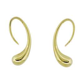Tiffany & Co. Paloma Picasso 18K Yellow Gold Teardrop Earrings