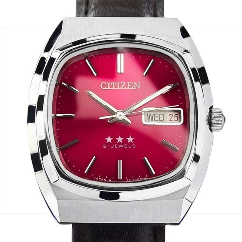 """Image of """"Citizen Stainless Steel Manual 36mm Watch"""""""