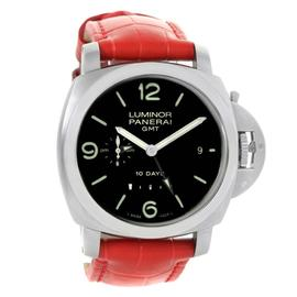 Panerai Luminor PAM00270 Marina 1950 10 Days GMT Stainless Steel 44mm Mens Watch
