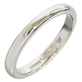 Bulgari Platinum Band Ring Size 5.25