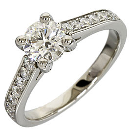 Piaget Platinum 950 0.52ct Solitaire Diamond Ring