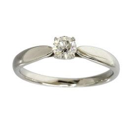 Tiffany & Co. Platinum 0.26ct Diamond Harmony Ring Size 5.75