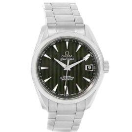 Omega Seamaster Aqua Terra 231.10.39.21.06.001 Grey Teak Dial Mens Watch