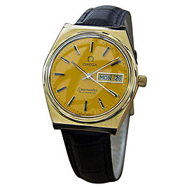 Vintage Omega Seamaster Gold Plated Calibre 1022 Automatic Vintage Mens Watch Year: 1970