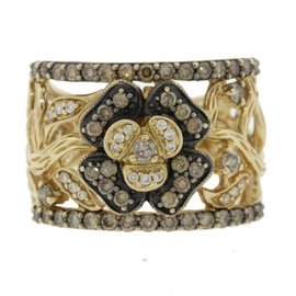 Le Vian 14K Yellow Gold 1.25ctw Chocolate Diamond Ring