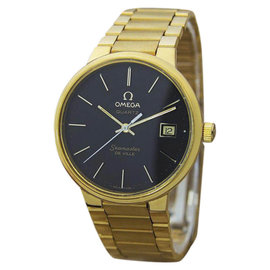 Omega Seamaster DeVille Gold Plated & Stainless Steel Vintage 35mm Watch