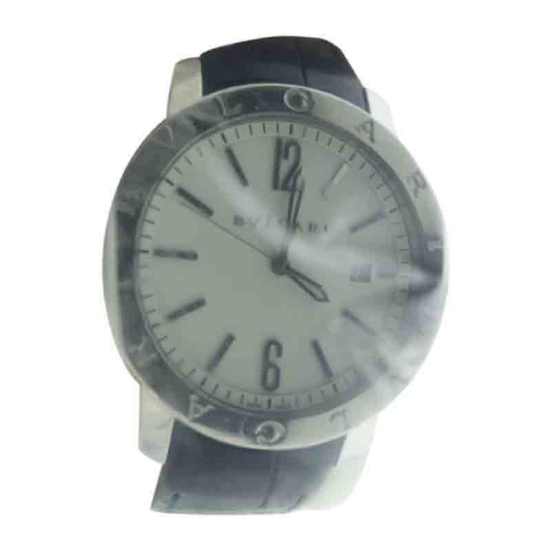 """Image of """"Bulgari Bb41 S Stainless Steel Automatic Mens Watch"""""""