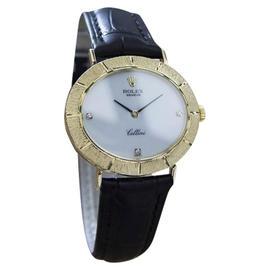 Rolex Cellini 18K Gold Vintage Mens Watch Year: 1971