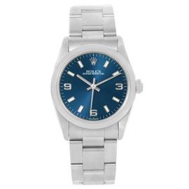 Rolex Datejust 77080 Blue Dial Oyster Bracelet Steel Watch