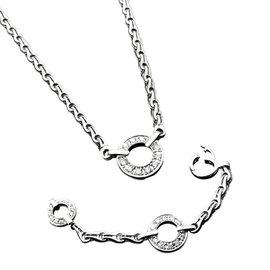 Di Modolo 18K White Gold Diamond Necklace