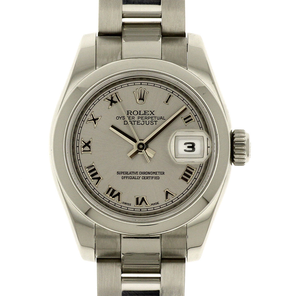 """Image of """"Rolex 179160 DateJust Stainless Steel Silver Roman Dial Automatic 26mm"""""""