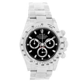 Rolex Cosmograph Daytona 116520 Black Dial Steel Mens 40mm Watch