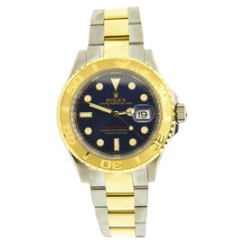 Rolex Yachtmaster 16623 18K Yellow Gold & Stainless Steel 40mm Mens Watch