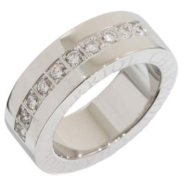 Charriol 18K White Gold Diamond Band Ring Size 6
