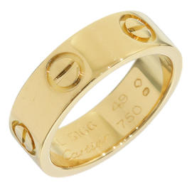 Cartier Love 18K Yellow Gold Ring Size 5