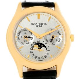 Patek Philippe Grand Complications 3940J 18K Yellow Gold 36mm Mens Watch
