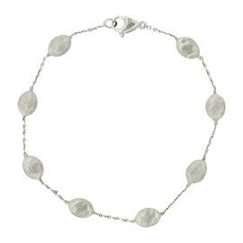 Marco Bicego Siviglia 18K White Gold Bead Bracelet 7.5