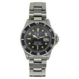 Rolex Submariner Date 1680 Stainless Steel Vintage 40mm Mens Watch