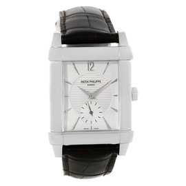 Patek Philippe Gondolo 5111G Mechanical 18K White Gold 38mm Mens Watch
