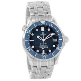 Omega Seamaster 2551.80.00 James Bond 300M Stainless Steel Blue Dial 36.25mm Mens Watch