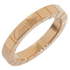 Cartier 18K Rose Gold Lanieres Wedding Band Ring Size 5