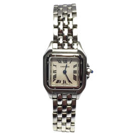 Cartier Panthere Stainless Steel Quartz 21.5mm Womens Watch