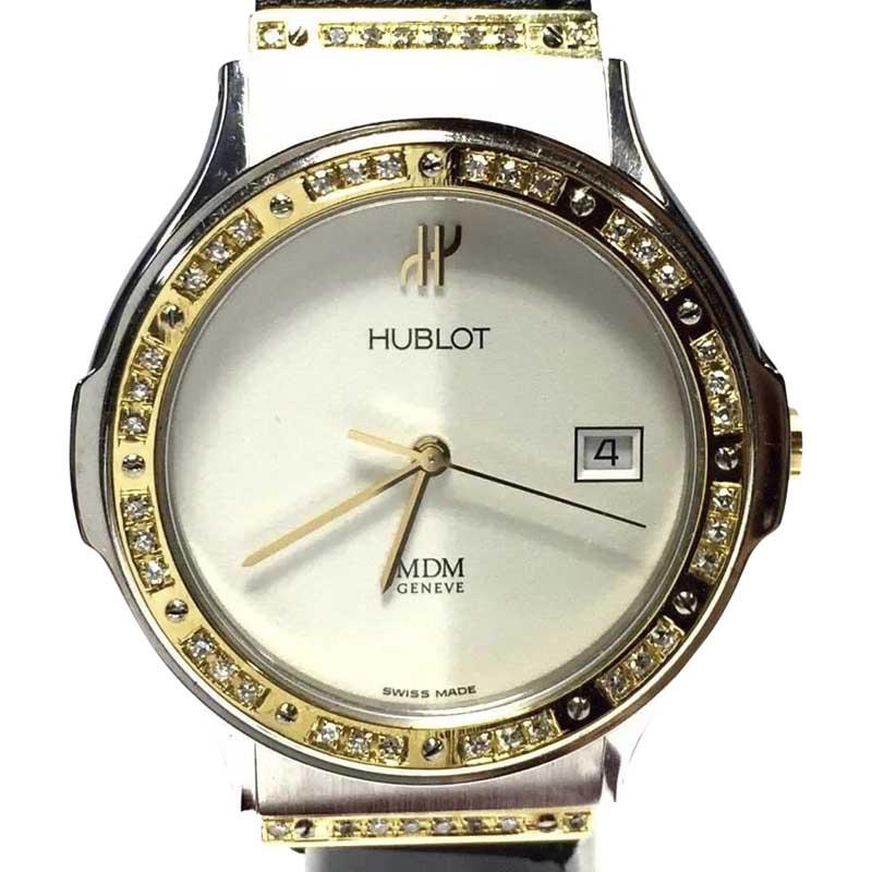 "Image of ""Hublot Depose 18K Yellow Gold & Stainless Steel Eggshell Dial 36mm"""