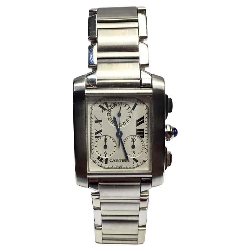 "Image of ""Cartier Stainless Steel 28.5mm Mens Watch"""