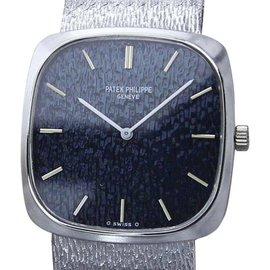 Patek Philippe 18K White Gold Manual 28mm Unisex Watch 1970