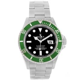 Rolex Submariner 16610LV Stainless Steel Black Dial 40mm Mens Watch