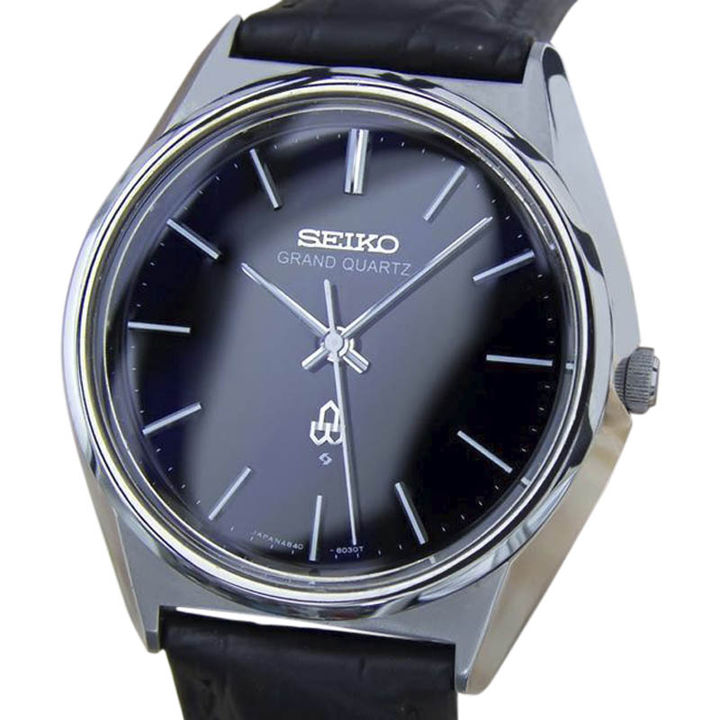 """Image of """"Seiko Grand 4840 8040 Stainless Steel Quartz 36mm Mens Watch 1980"""""""