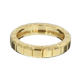 Chopard 18K Yellow Gold Ice Cube Band Ring 6.75