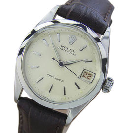 Rolex 6256 Stainless Steel Vintage 30mm Mens Watch