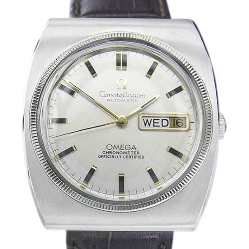 "Image of ""Omega Constellation Stainless Steel Vintage 36mm Mens Watch"""