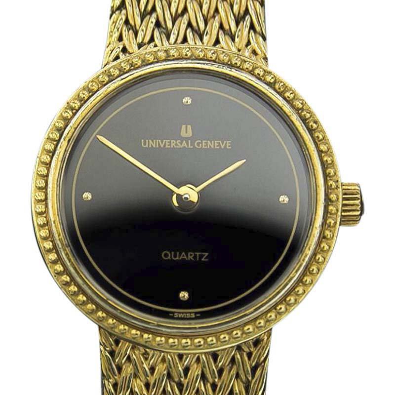 "Image of ""Universal Geneve Gold Plated Swiss Made Ladies Quartz 1990s Dress"""