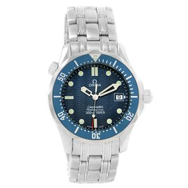 Omega Seamaster 2561.80.00 Stainless Steel & Blue Dial 36.25mm Unisex Watch