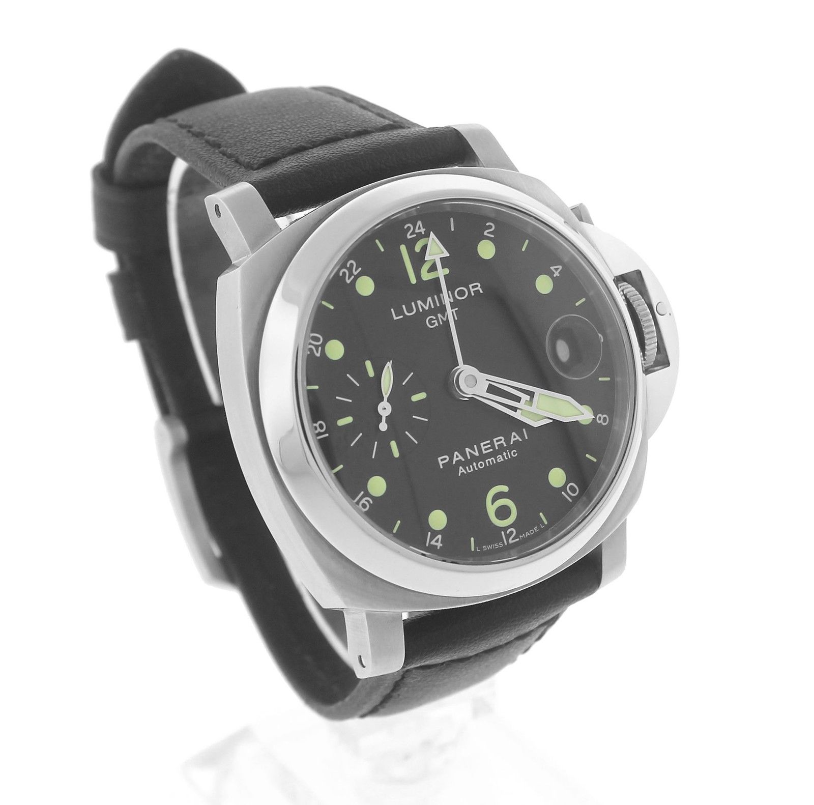 """Image of """"Panerai Luminor PAM 00159 Stainless Steel & Black Dial Automatic 40mm"""""""