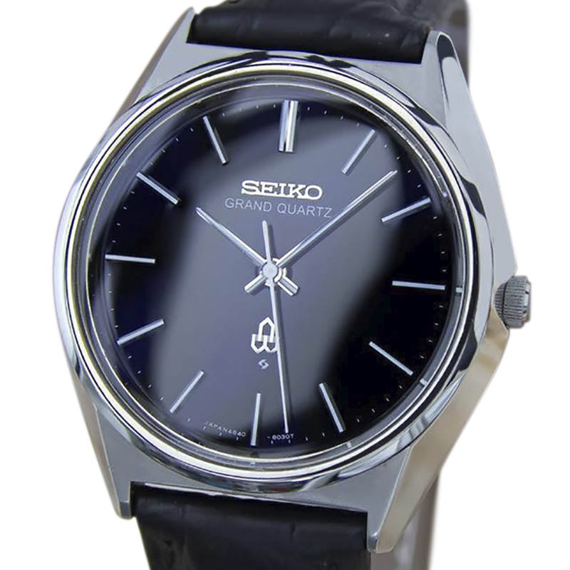 "Image of ""Seiko Grand Stainless Steel Vintage 36mm Mens Watch"""