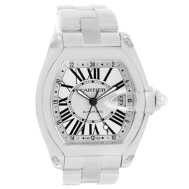 Cartier Roadster W62032X6 Stainless Steel Automatic 43mm Mens Watch