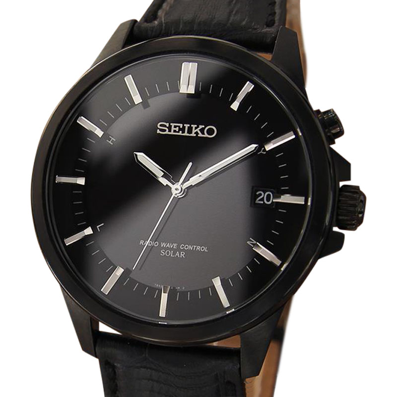 """Image of """"Seiko Stainless Steel 40mm Mens Watch"""""""