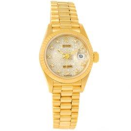 Rolex President 69178 18K Yellow Gold Jubilee Diamond 26mm Womens Watch