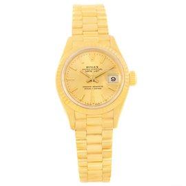 Rolex President 69178 18K Yellow Gold Dial 26mm Womens Watch