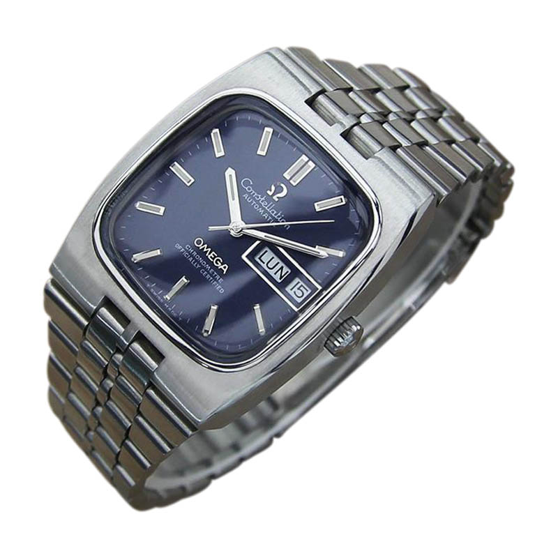"Image of ""Omega Constellation Stainless Steel Automatic Vintage 34mm Mens Watch"""