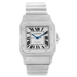 Cartier Santos Galbee W20098D6 Stainless Steel Automatic 32mm Mens Watch