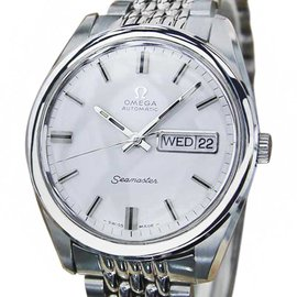 Omega Seamaster Stainless Steel Automatic Swiss Made 36mm Mens Watch 1960s